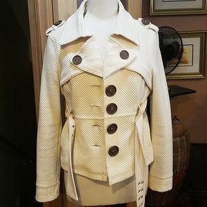 Vtg 1990s offwhite jacket